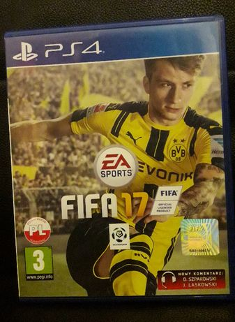 gra play station playstation ps4 ps 4 fifa17 17 fifa nowy komenentarz