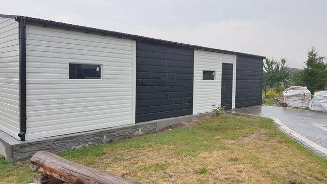 Garaże blaszki garaż 12x6