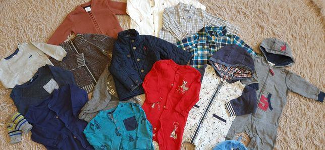 Продам пакет вещей на мальчика,рост 74-80+ подарки