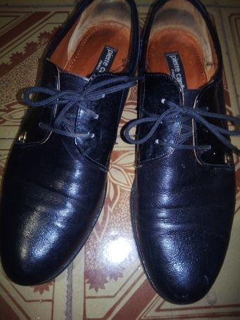 Мужские кожание туфли Италия