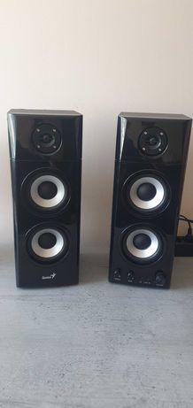 Głośniki Genius 2.0 SP-HF1800A Black Wood