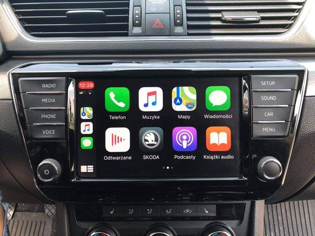 AndroidAuto CarPlay MirrorLink Audi VW Skoda Seat Konwersja USA-EU