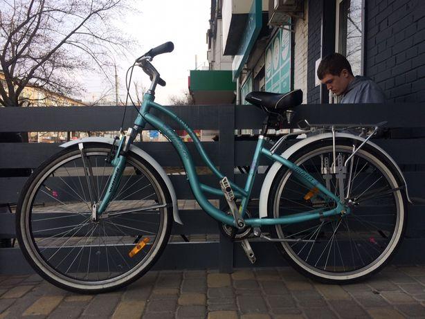 Велосипед городской Winner pretty с передачами (3 скорости)