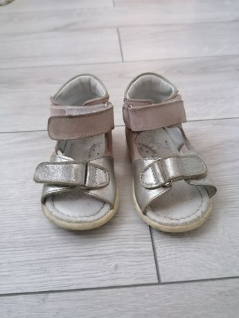Sandałki skorzane Emel r 19