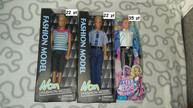 Lalki typu Ken
