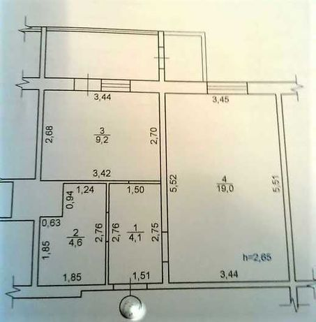 Продам 1-комнатную квартиру на Параджанова, 9