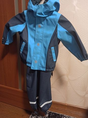 Демисезонный костюм, дождевик, куртка,комбинезон 2-5 лет (86-92)