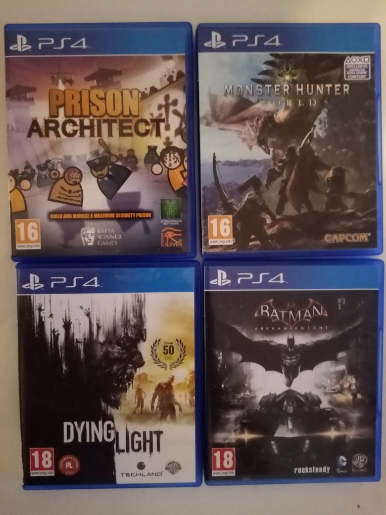 Gry PlayStation 4 MONSTER HUNTER WORD I inne