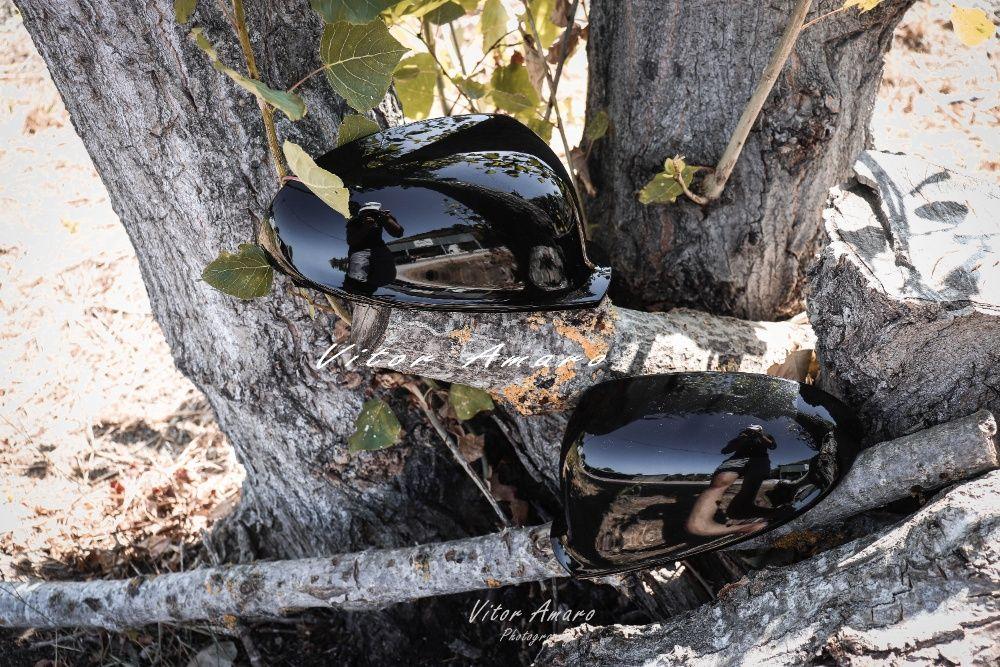 Capas de Espelhos em Preto Glossy (Volkswagen Golf MK5, GTI, R) NOVAS