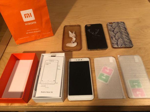 Telefon Xiaomi Redmi Note 5A Zestaw