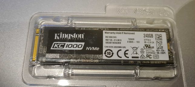 SSD M2 Kingston KC1000 240GB