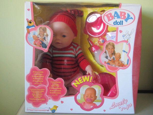 Новая интерактивная кукла пупс Baby Doll