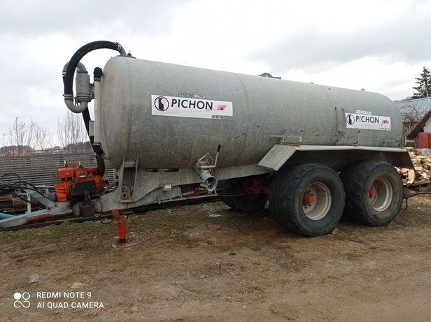 Beczkowóz Pichon 18tys litrów tandem wóz beczka joskin Conor garant