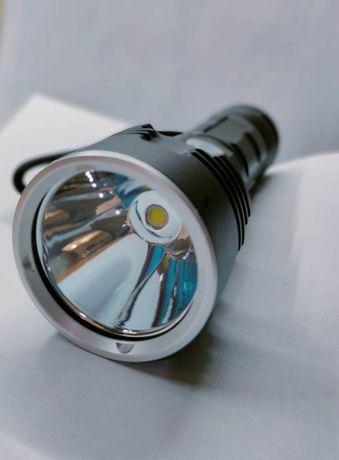 Супер мощный фонарь на кристалле XHP70.2