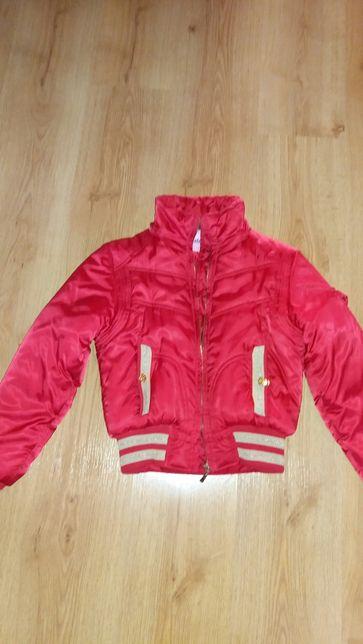 Куртка демисезонная для девочки подростка рост 152 см.