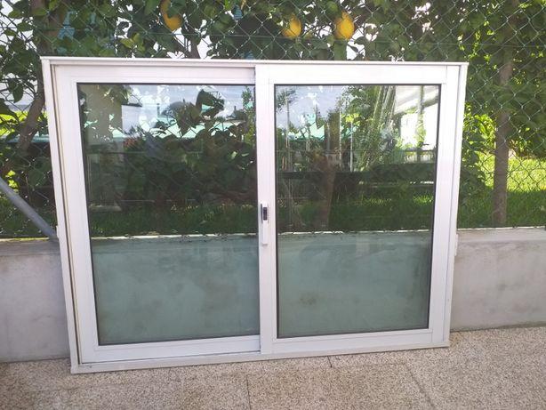 janela vidro duplo