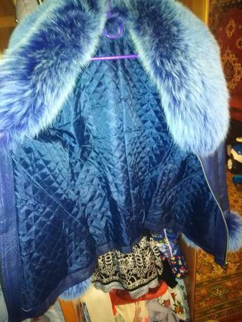 Курточка демисезонная, можно на теплую зиму