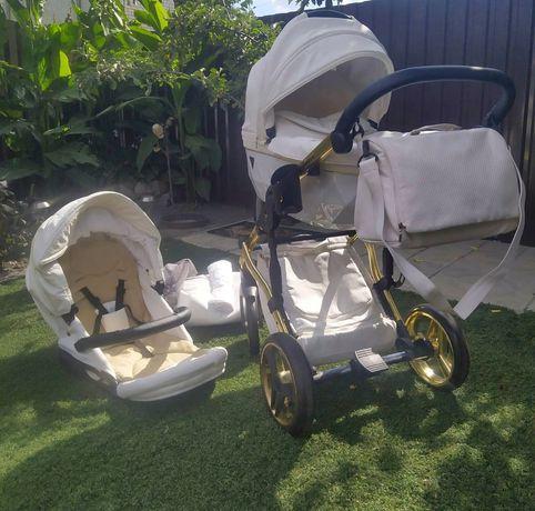 Детская коляска универсальная 2 в 1 Junama Diamond Individual 04 (JD-I