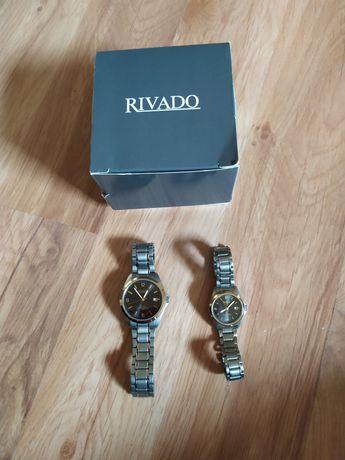 Zegarki zestaw damski i męski RIVADO prezent