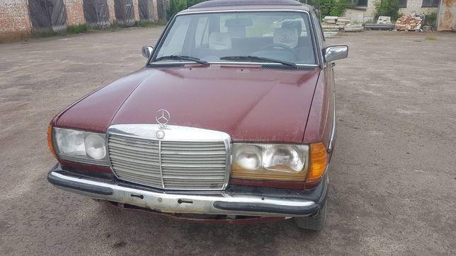 Mercedes-Benz 123  по болтам