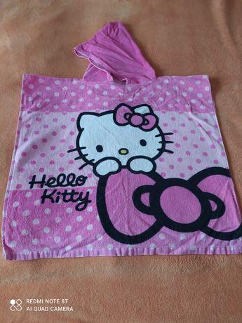 Ręcznik z kapturem  Hello kitty