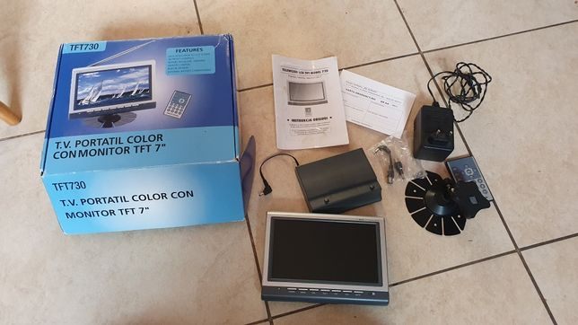 Telewizor TFT LCD 7 cali 12V FPV