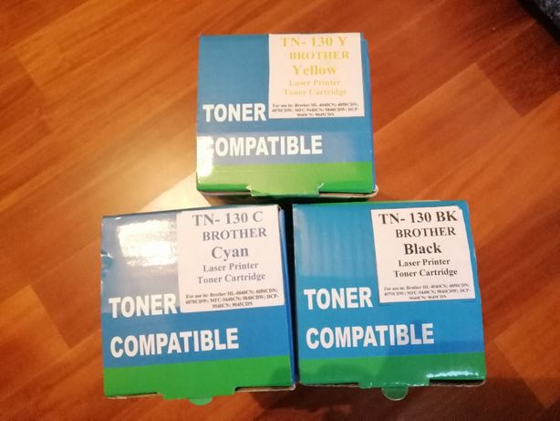 TONERS - BLACK / CYAN/YELLOWCompativésis - Brother HL 4040CN; 4050CDN;
