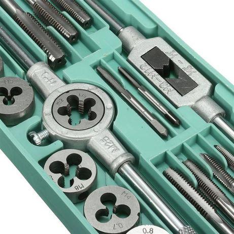Kit' de abrir roscas (machos), caçonetes - 20 peças em caixa (novos)