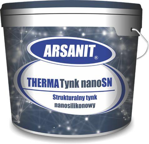 Tynk nanosilikonowy ARSANIT ThermaTynk-nanoSN baranek 2,5 mm 25kg baza