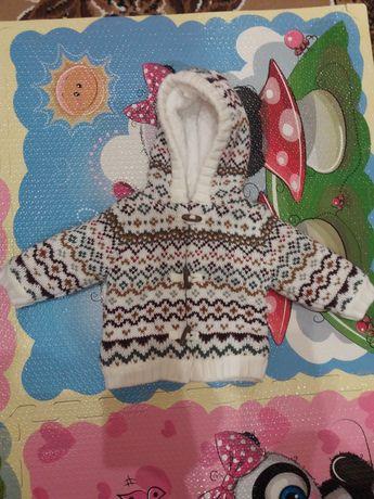 Детская зимняя кофта