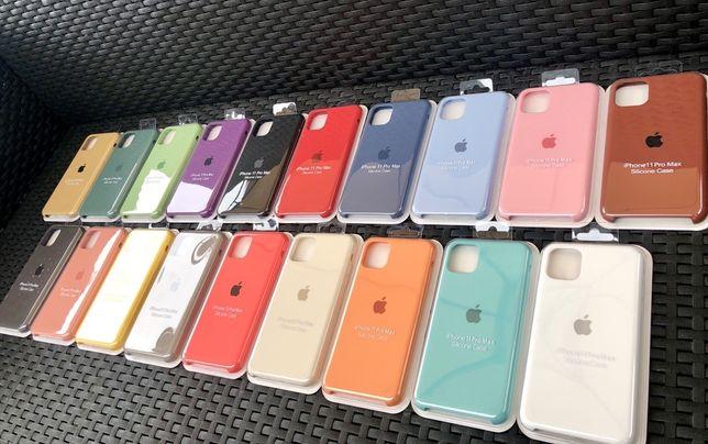 Capas silicone para iPhone - Em stock
