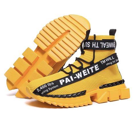 Кроссовки под off white 46 (12us) желтые мягкие яркие nike adidas puma