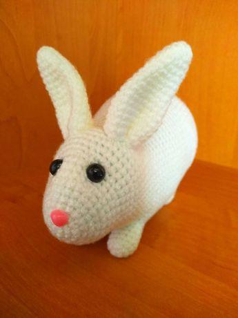 Игрушка ручной работы, кролик