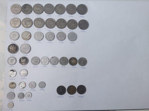 Monety PRL bez znaku mennicy
