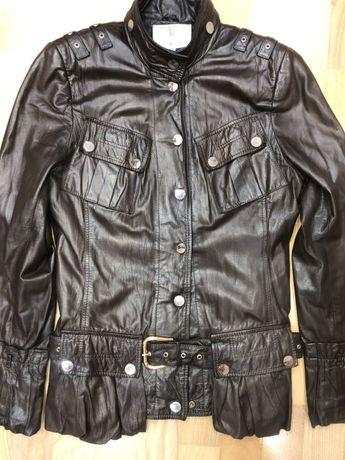 Кожаная курточка 38 размер