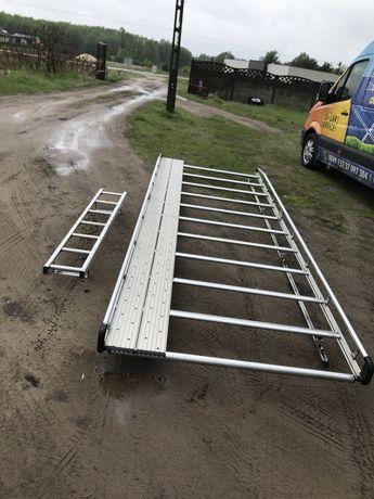 Aluminiowy Bagażnik dachowy Sprinter 06-