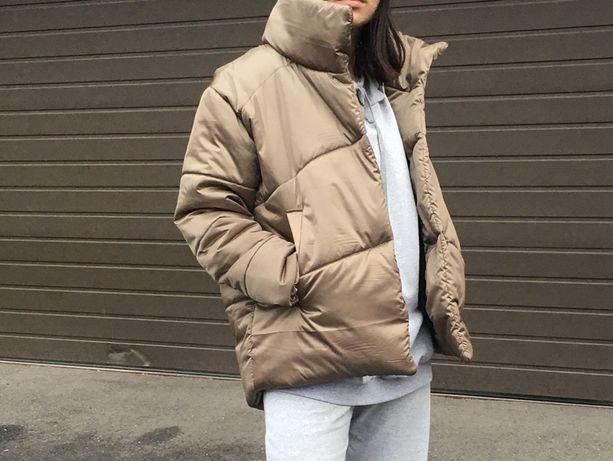 Куртка Курточка Пуховик на флисе Зима