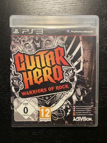 Guitar Hero Warriors Of Rock Gra PS3 Playstation