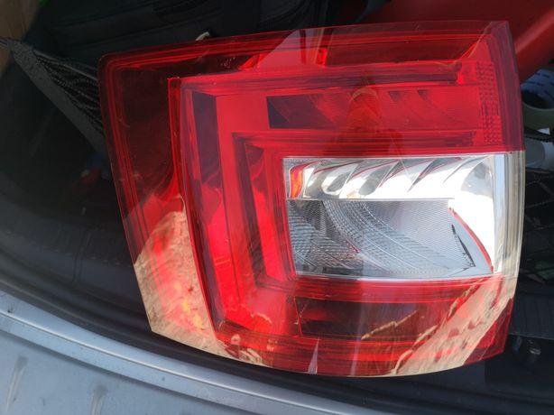 Lampa lewa Octavia 3 III tył LED