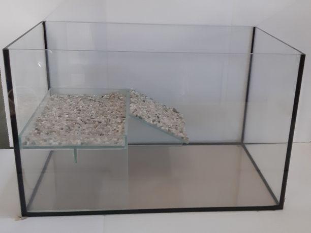 Akwarium dla żółwia wiwarium 40x25x25 PRODUCENT