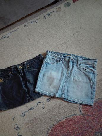 Spódniczki jeansowe mini