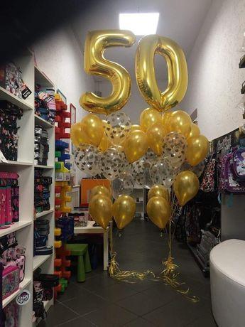 Kompozycje balonowe, balony z helem, pompowanie balonów helem