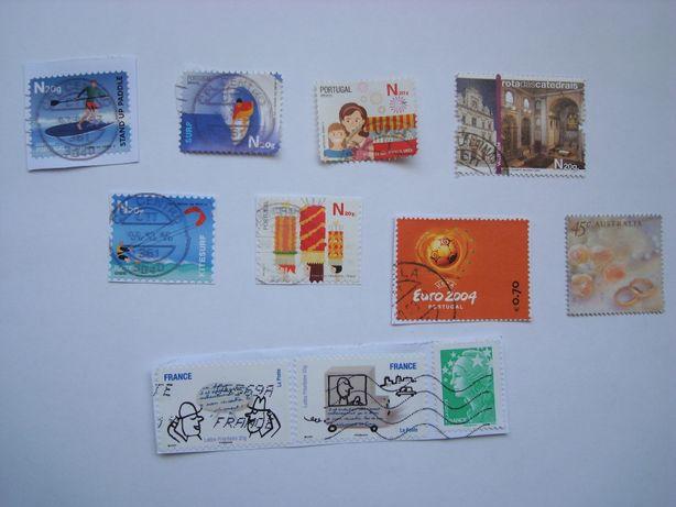 selos portugueses e estrangeiros