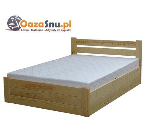 łóżko otwierane na bok ze stelażem elastycznym SAND 180x200