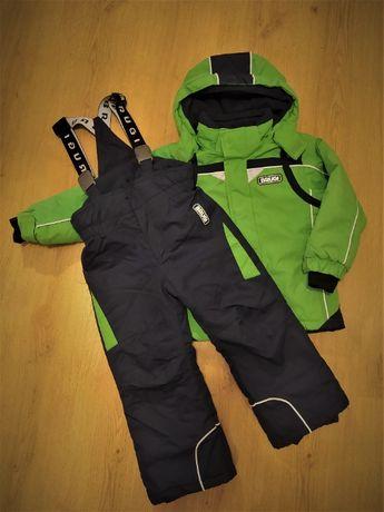 Kombinezon zimowy narciarski 2-częściowy BRUGI rozm.98-104 dla chłopca