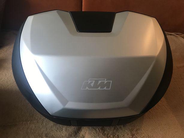 Kufer centralny KTM zestaw plyta oparcie nowe. Manetki KTM gratis!!!