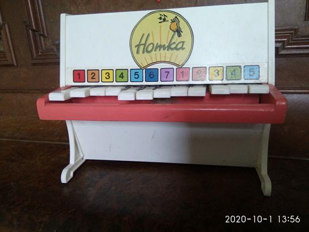 Детское пианино Нотка СССР
