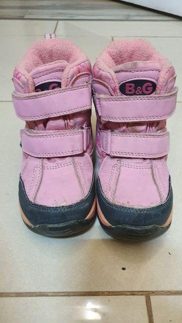 Ботинки для девочки зимние B&G