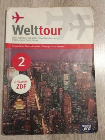 Welttour 2 podręcznik z ćwiczeniami