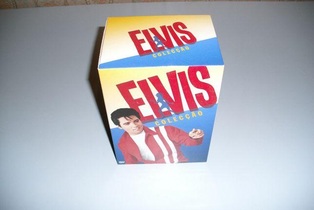 Elvis Presley Colecção 7 DVDS o Imortal Rei do Rock